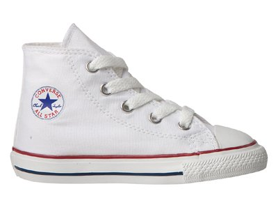 Converse Infant Chuck Taylor All Star Hi Top - Optical White-2 INFT