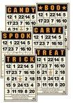 Bingo Cards: Halloween