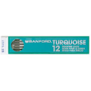 Turquoise Draft Lead (9H) Prismacolor Tube Of 12-Each