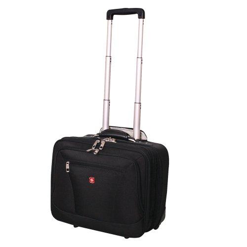 "SwissGear Rolling Briefcase - Black (17"")"