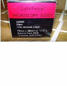 Microscope Slides-1 St, Plain-72/Box,5 Box/Pack