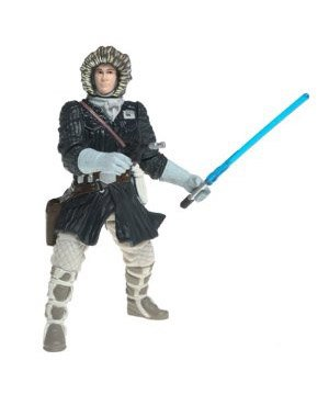 Star Wars Episode 2  Han Solo Hoth Rescue Action Figure