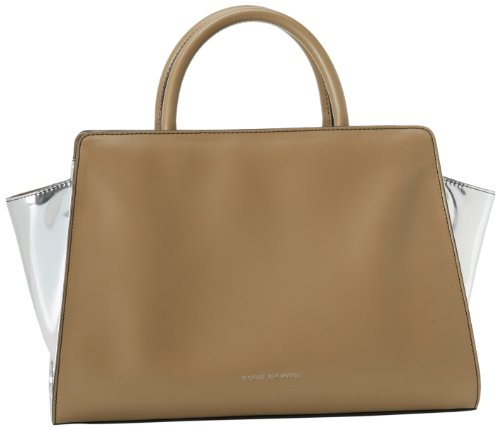 Z Spoke Zac Posen New York Women's Eartha Satchel, Elephant/Silver, One Size