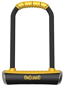OnGuard Shackle Gold Standard Sold Secure Rated Bike Lock -2013 (Brute (16mm thick UltraSteel), 117 x 260mm)