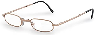 Folding Reading Glasses - Great Value - Extra Clear Vision (Includes - Case, Cleaning Cloth and Cord)