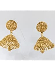 ANTIQUE TRADITIONAL POLKI EARRINGS