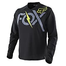 Fox Racing Women's Switch Foxtown Jersey XLarge/Black/Yellow