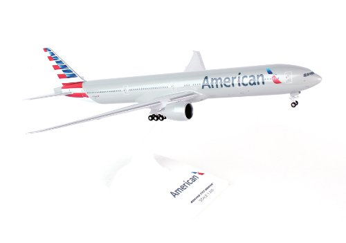 Daron Skymarks SKR715 American 777-300 New Livery Airplane Model Building Kit with Gear, 1/200-Scale (American Airlines Model compare prices)