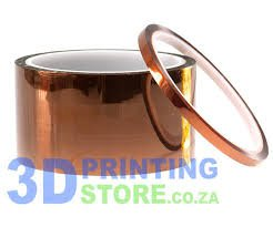 50mm Kapton / Polyimide Adhesive Tape for 3D Printer & Reprap Batteries Applications.