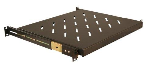 Gator Cases 1U Sliding Shelf (Black, 13.8-Inch Deep)