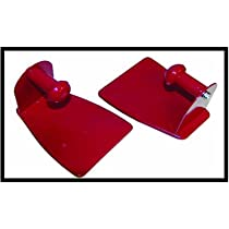 2 PIECE HEAVY DUTY MAGNETIC TOWEL HOLDER CAN HOLD ANY SIZE PAPER TOWELS