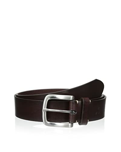 Maker & Company Men's 35mm Pebble Grain with Contrast Bar Tack Belt