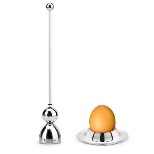 Stainless Steel Egg Opener Set Household Eggshell Cutter Set Egg-spoon,Egg-cup