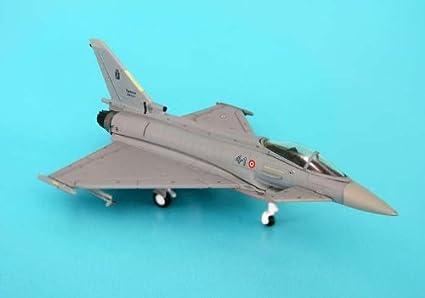 "EF2000 Typhoon F2 maquette avion échelle 1:200 9° Gruppo ADX, 4° Stormo ""Amedeo d'Aosta"" Aeron..."