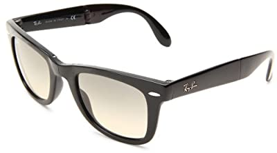 Ray-Ban Men's Folding Wayfarer Square Sunglasses