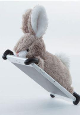 docomo au SoftBank iPhone6 専用 simasima ZOOPY iPhone ケース カバー ジャケット (ウサギ)