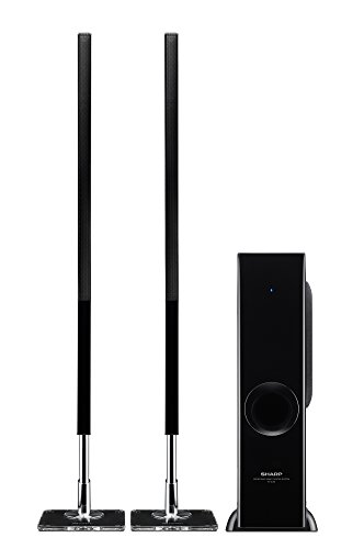 Find Cheap Sharp HT-SL75 2.1 Channel Slim Sound Bar Home Theater System (Certified Refurbished)