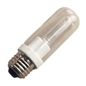 GE 16778 60-Watt Halogen Tubular T10 Light Bulb, 1-Pack