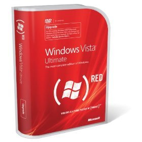 Windows Vista Ultimate (PRODUCT)RED  Upgrade with SP1