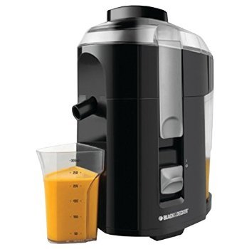 5 X Black & Decker JE2200B 400-Watt Fruit and Vegetable Juice Extractor with Custom Juice Cup, Black