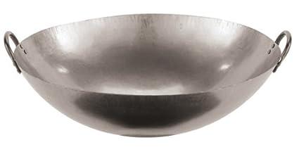 World-Cuisine-49605-46-Paderno-Chinese-Steel-Kadhai