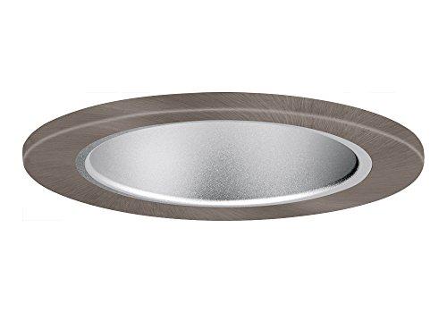 """Aurora 6"""" Haze Cone, Satin Nickel Trim For Halo / Juno Recessed Downlight Cans, Par38 Version - Ar-Tr63Hzsn"""