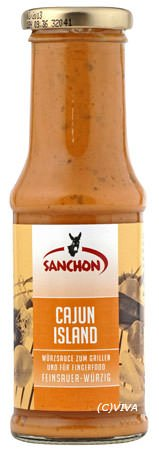 "Sanchon Bio Grillsauce ""Cajun Island"" (220 ml)"