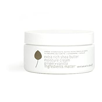 Pure Plant Spa  Extra Rich Shea Butter Moisture Cream  Ginger and Vanilla  7 oz