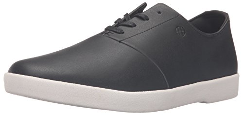 HUF Men's Gillette Skateboarding Shoe, Black/Blanc, 10 M US
