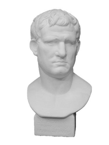 石膏像 K?162 アグリッパ胸像(丸) H.58cm