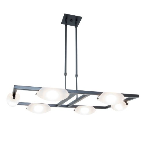 Access Lighting 63962-ORB/FST 6 Light Nido Adjustable Chandelier