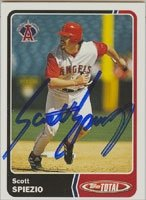 Scott Spiezio Anaheim Angels 2003 Topps Total Autographed Hand Signed Trading Card. by Hall+of+Fame+Memorabilia