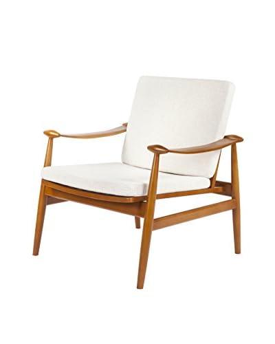 Stilnovo The  Perm Lounge Chair, Beige