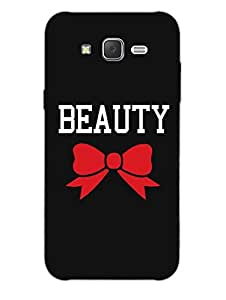 Beauty - Hard Back Case Cover for Samsung J7 - Superior Matte Finish - HD Printed Cases and Covers