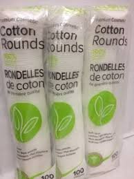 Delon 100% Cleansing Cotton Rounds