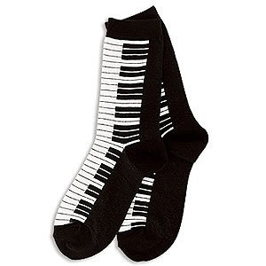Piano Socks Musical Instrument Keyboard Sox