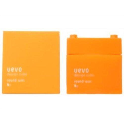 Demi Uevo Design Cube Round Wax 80 grams (Uevo Hair Wax compare prices)