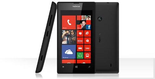 Nokia Lumia 520 Unlocked Touchscreen Smartphone with Windows Operating System (Black)