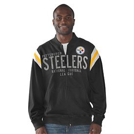Jacket Steelers Hand Off Track at Amazon.com