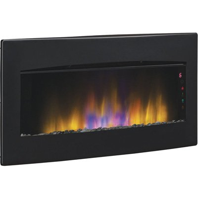 Flat Panel Wall Mounted Electric Fireplace Reviews Heater Napoleon Stanton Fire Sense Mount On