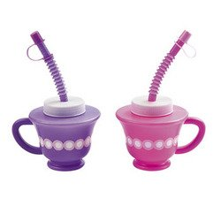 Tea Party Novelty Drinkware (1 Dozen) - Bulk