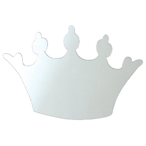 RoomMates MIR0001CRL Princess Crown Peel & Stick Mirror