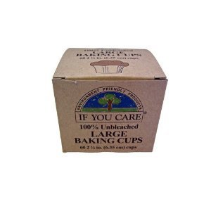 IF YOU CARE BAKING CUPS,BROWN 2.5IN, 60 CT (If You Care Baking Cups compare prices)