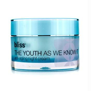 Bliss The Youth Anti-aging Night Cream, 1.7 Fluid
