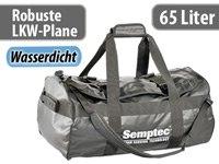 Semptec Rucksack-Reisetasche aus LKW-Plane, 65