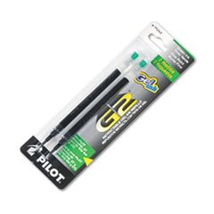 Pilot Recharge de Gel G2, Ltd, Dr Grip Gel ExecuGel G6/Q7, pointe Fine, vert, 2-Pack, PIL77243-PK