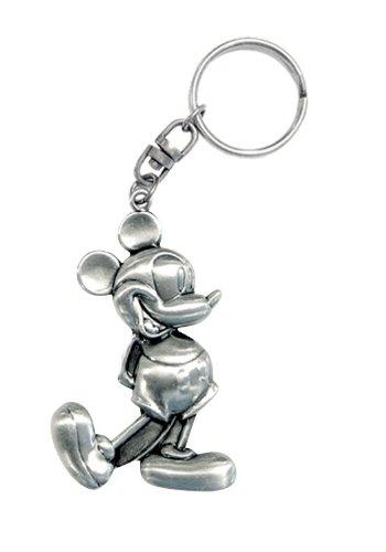 Disney Mickey Retro Pewter Keyring - 1