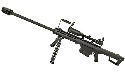 SNOW WOLF バレットM82A1 (対物ライフル) 電動フルメタル スコープ&バイポット付属
