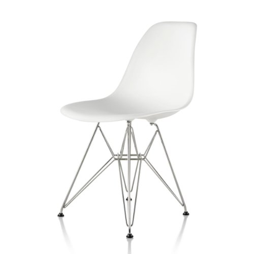 Eiffel Chairs Metal Legs Eiffel Molded Plastic Chair with Metal