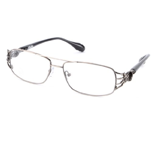Affliction OMINOUS Designer Eyeglasses - Black/Gun